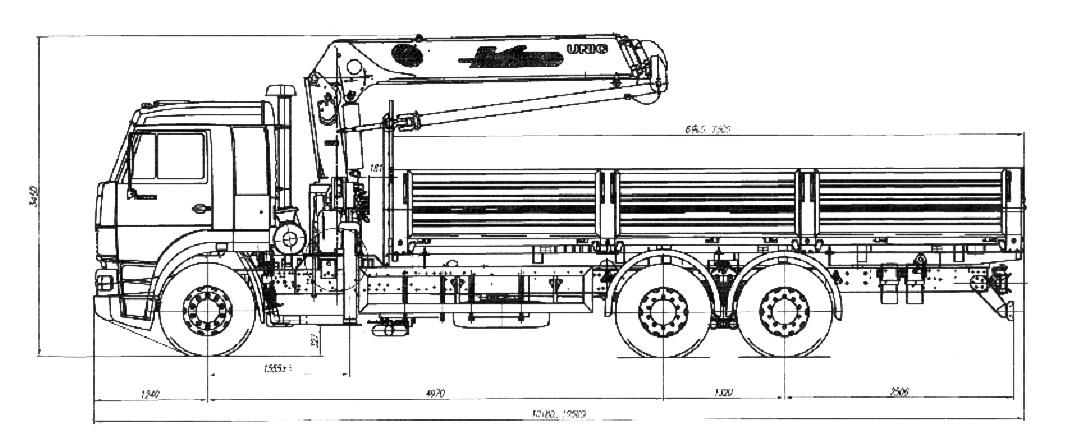 эл схема камаз 65201